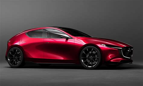 concept mazda 2018 mazda3 previewed with stunning concept