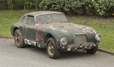 Pre War Aston Martin Dilapidated Post War Aston Martin Endurance Racer Sells