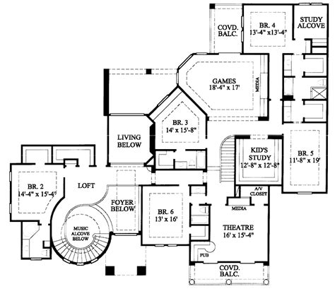 6 bedroom house plans 6 bedroom house plan numberedtype