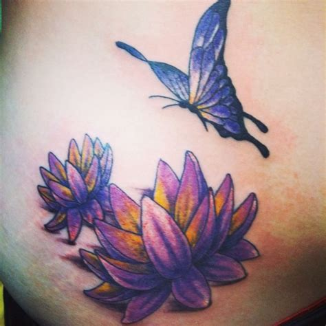 Lotus And Butterfly Butterfly And Lotus Flowers Hayley