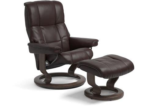 buy stressless recliner stressless 174 mayfair leather recliner medium classic