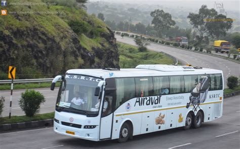 ksrtc airavat club class volvo b9r multiaxle semi sleeper