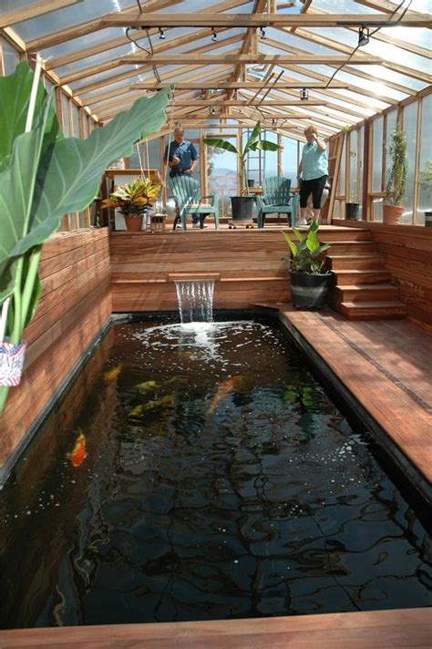how to make an indoor fish pond inspirations modern indoor fish pond design to decoration