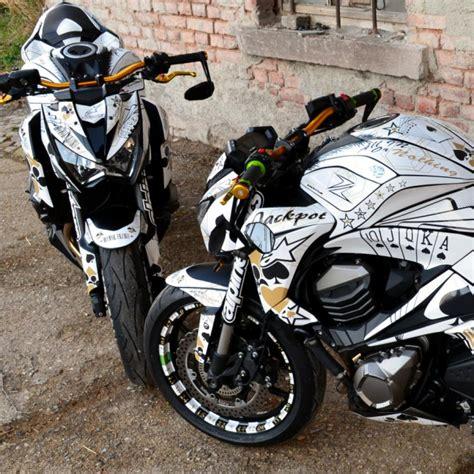 Kawasaki Z800 Felgenaufkleber by Motorradaufkleber Bikedekore Wheelskinzz Kawasaki