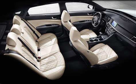 Kia Optima Leather Interior Here S Why The 2016 Kia Optima Is Not Your Average Midsize