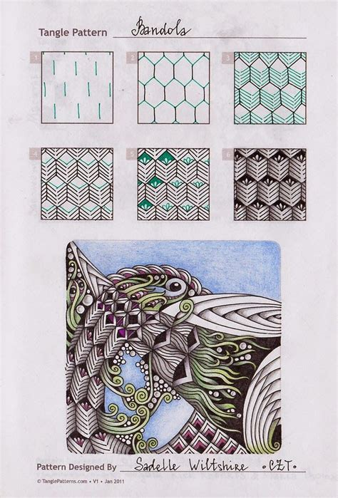 zentangle pattern illustrator 17 best images about zentangle patterns on pinterest