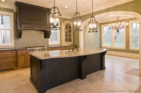 Granite Kitchen Island Ideas Pictures Of Kitchens Traditional Two Tone Kitchen Cabinets Kitchen 18