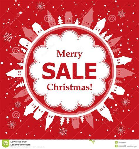 christmas sale design stock vector illustration  xmas