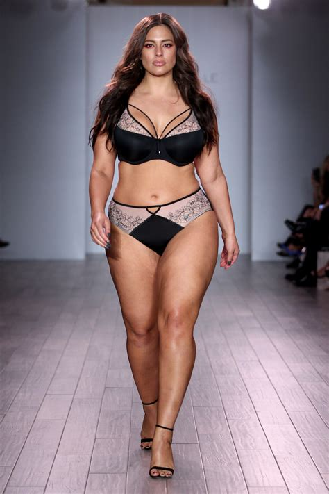 ashley graham lingerie a look at ashley graham s gorgeous lingerie line at nyfw