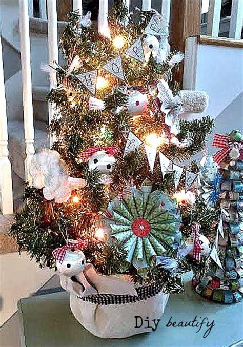 a tree for me miniature ornaments mini tree and diy ornaments diy beautify