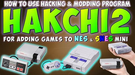 tutorial hack snes classic how to use hakchi2 tutorial mod hack nes snes mini