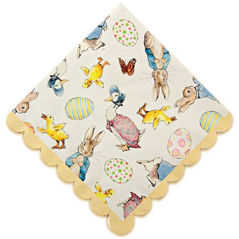 Cake Decorations At Home peter rabbit easter napkins easter party ideas party ark