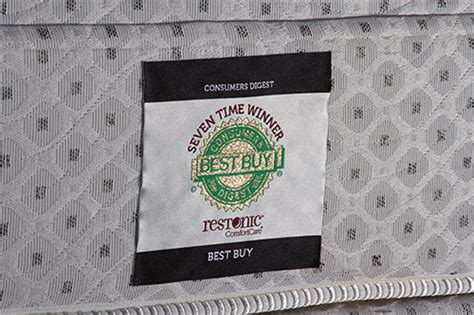Consumer Digest Best Buy Mattress by Restonic Mattresses Memory Foam Mattress Wilk Furniture