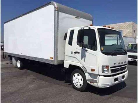 mitsubishi fuso box truck mitsubishi fuso 24ft box truck high cube liftgate 4