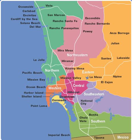 Search San Diego County Map Of San Diego County Cities Search Search Homes For Sale In San Diego