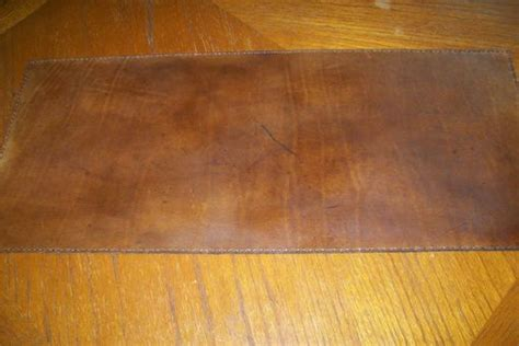 handmade custom leather desk pad  kerrys custom leather