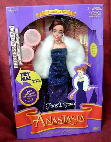 film disney barbie 20th century fox anastasia paris elegance doll dolls