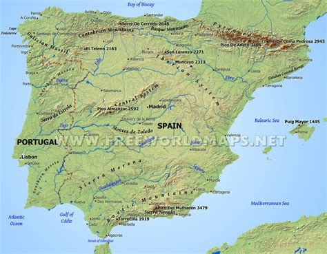 iberian peninsula map physical map of europe iberian peninsula www pixshark images galleries with a bite