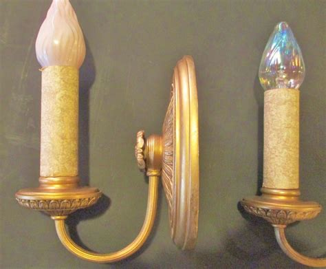 Electric Candle Sconces For The Wall electric candle wall sconces from mainstreetantiquesandcollectibles on ruby