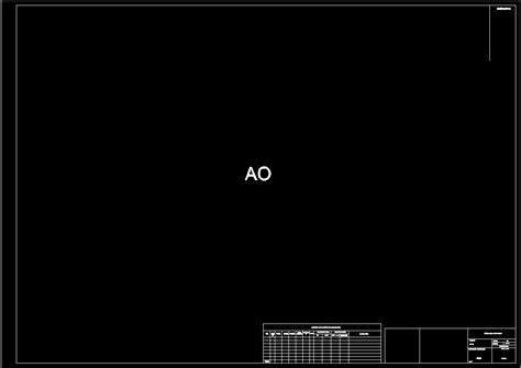 format a0 dwg a0 format template dwg block for autocad designscad