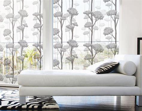 Sichtschutz Fenster Jumbo by Fensterfolie Selbstklebend Grauer Herbstwald