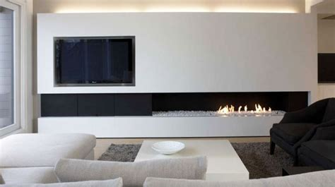 media wall ideas fireplace ideas freshome