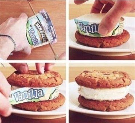 cuisine trucs et astuces truc et astuce cookie glace photo tuxboard