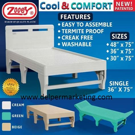 plastic bed frame zooey plastic bed frame
