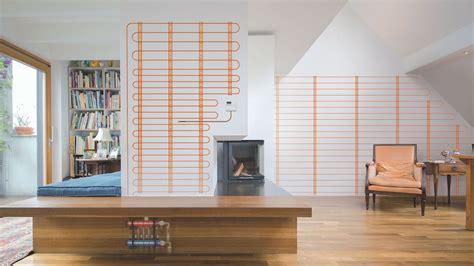 pannelli radianti elettrici a pavimento il comfort dalle pareti il riscaldamento a pannelli