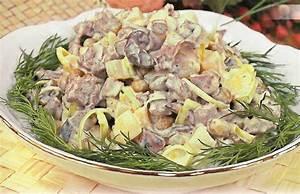 рецепты русских салатов с фото