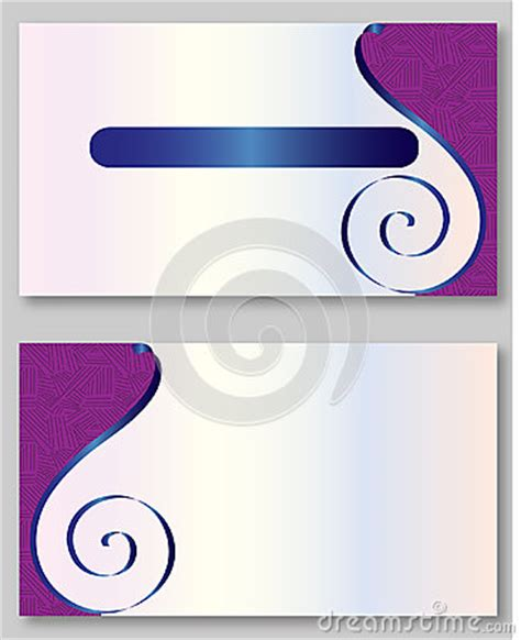 purple business card template purple business card template stock vector image 60160204
