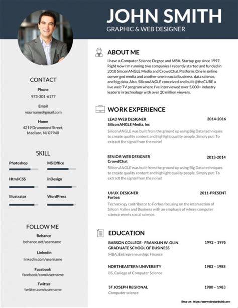 Editable Resume Templates Free Download Resume Resume Exles Yxla7ldgej Free Cv Templates Microsoft Word