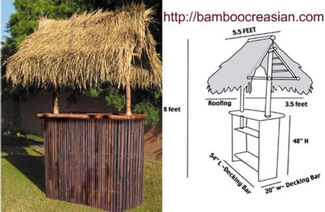 How To Build A Tiki Hut Quality Bamboo And Asian Thatch Tiki Bars And Huts