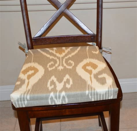 grey fabric chair covers items similar to ikat gray fabric seat cushion cover