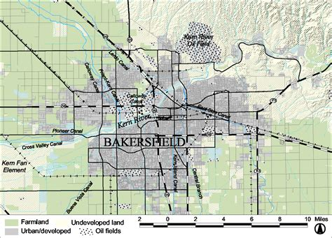 map of bakersfield bakersfield map map
