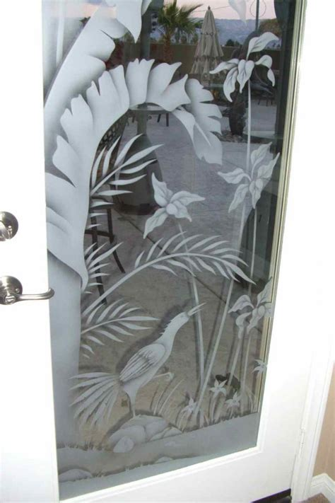 Etched Door Glass Sans Soucie Art Glass Custom Etched Glass Doors