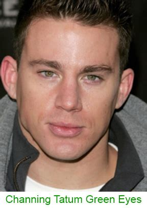 channing tatum eye color green a complete eye color guide