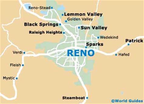 reno map reno maps and orientation reno nevada nv usa