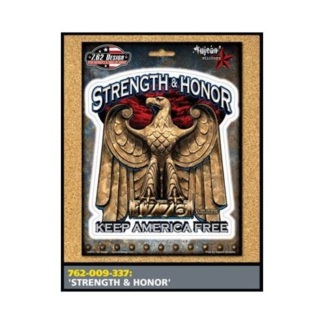 weaponized honor tactical books strength honor sticker