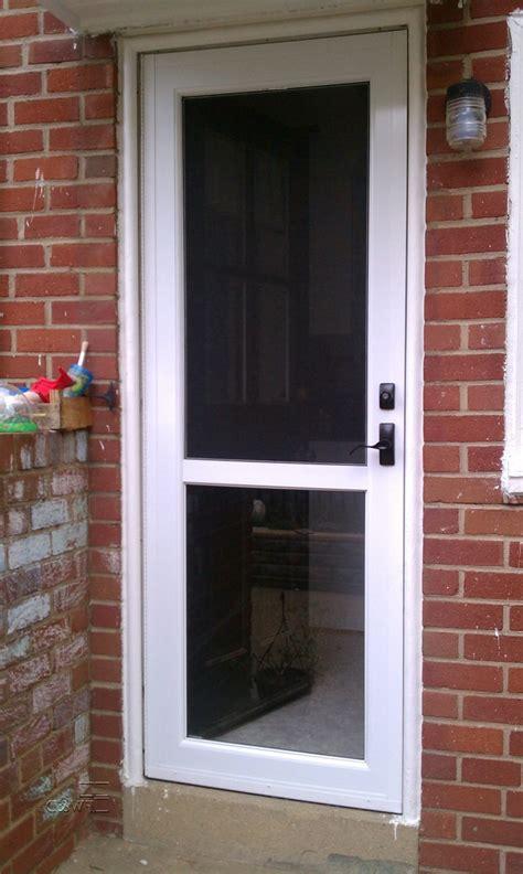 screen door installation install a screen door screen doors replace door how to install larson easyhang door