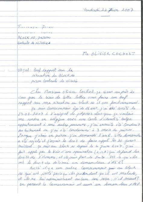 Lettre De Motivation Pour Visa Sejour Visiteur En Modele Lettre Carte De Sejour 10 Ans Document
