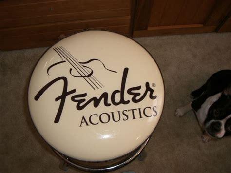 guitar stools at bargain prices fender guitar bar stool 24 inch fender acoustics