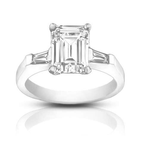 1 00 ct emerald cut engagement ring