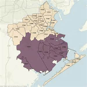 galveston zip code map i 45 corridor communities utmb living utmb health