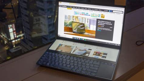 asus zenbook pro duo hands  review   laptop   touchscreens  maximum