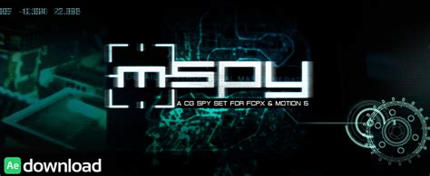 template after effects spy motionvfx archives page 5 of 5 free after effects