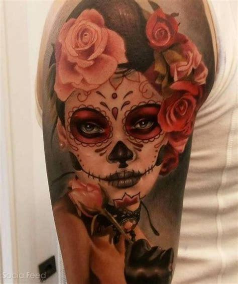 tattoo pain the next day catrina tattoo by aitor jimenez home decor that i love