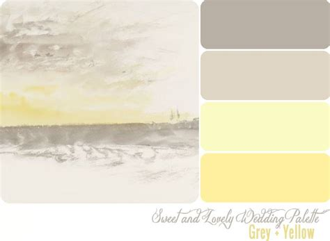 color palette yellow grey and yellow color palette from sweet and lovely life