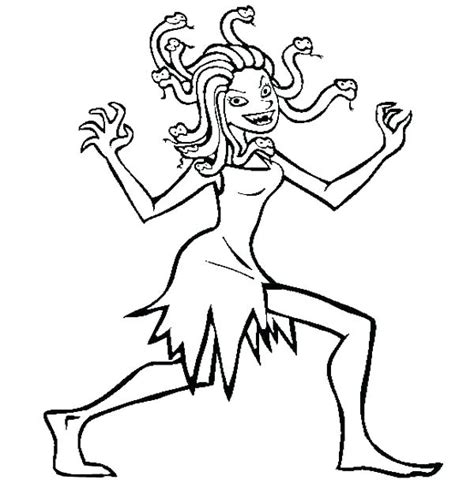 medusa coloring pages medusa coloring pages at getcolorings free printable
