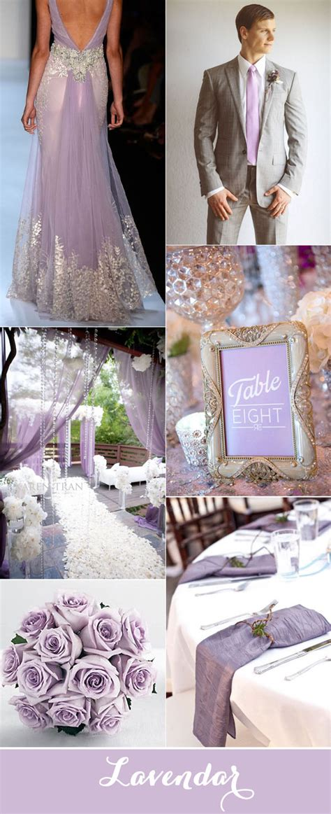 top 7 purple and grey wedding color palettes for 2017 stylish wedd